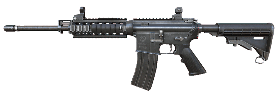 Transparent rifle m4a1. M a rules of