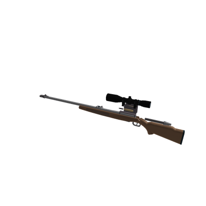 Transparent rifle old. Hunting roblox