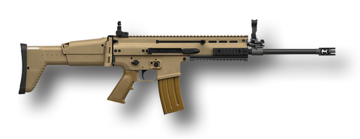 Transparent rifle scar h. Fn history specifications experience