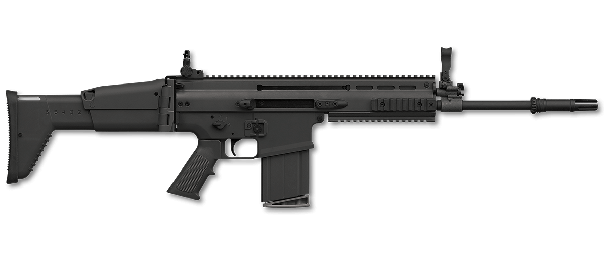 Transparent rifle scar h. Fn standard