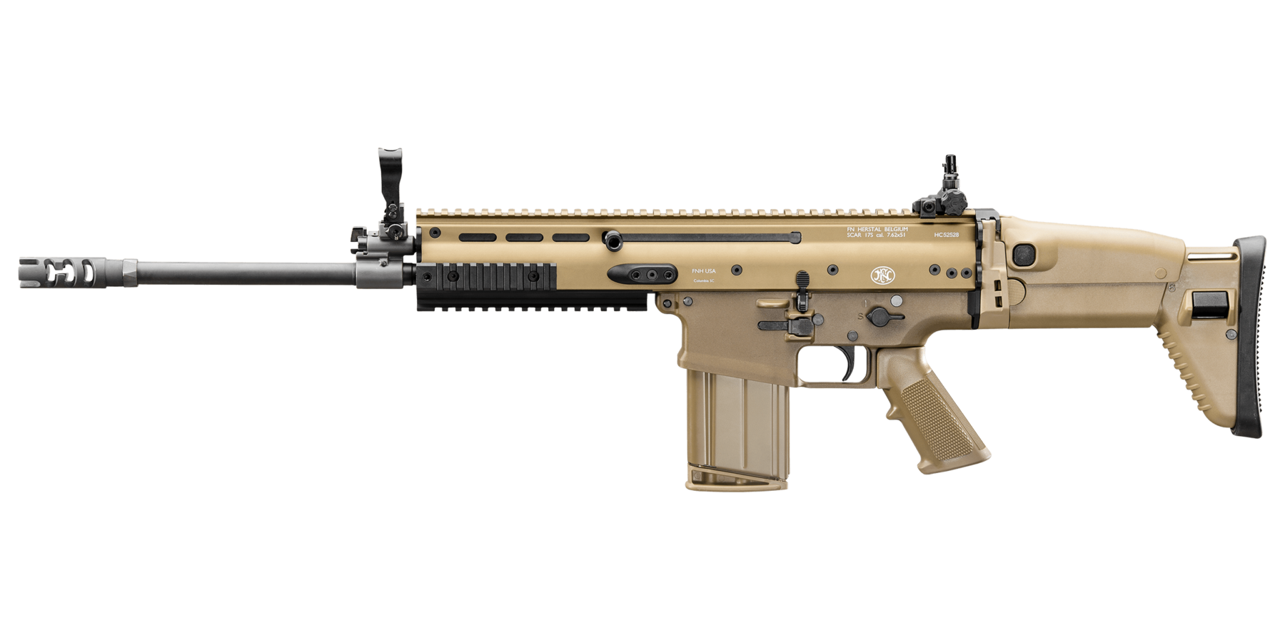 Transparent rifle scar h. Fn s
