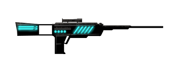 Transparent rifle sci fi. Gun by reindertgroth on