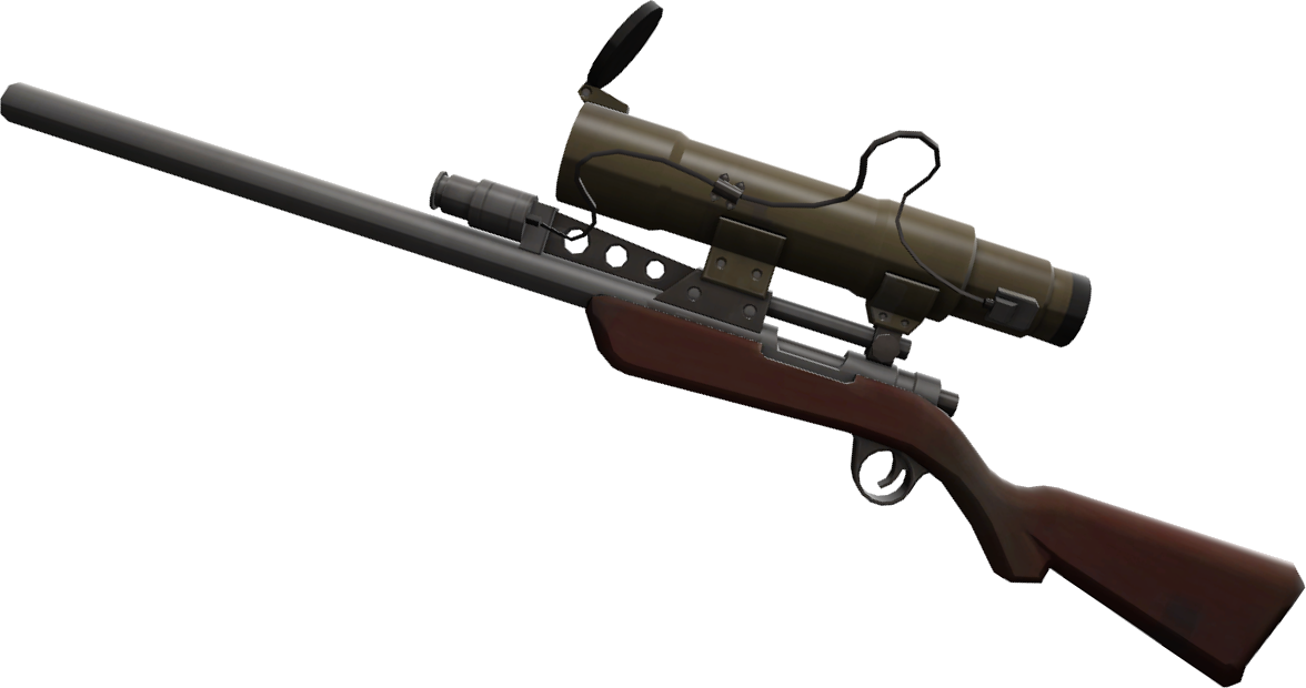 Transparent rifle tf2 sniper. The from team fortress