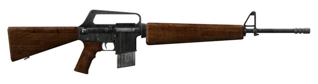 Transparent rifle wooden. Fallout new vegas service