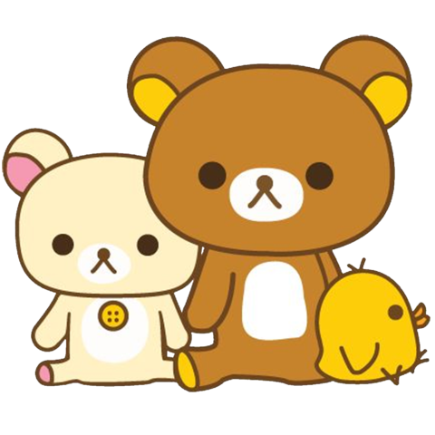Transparent rilakkuma lazy. Who is and why