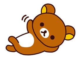Transparent rilakkuma cute. Kawaii bear the panda