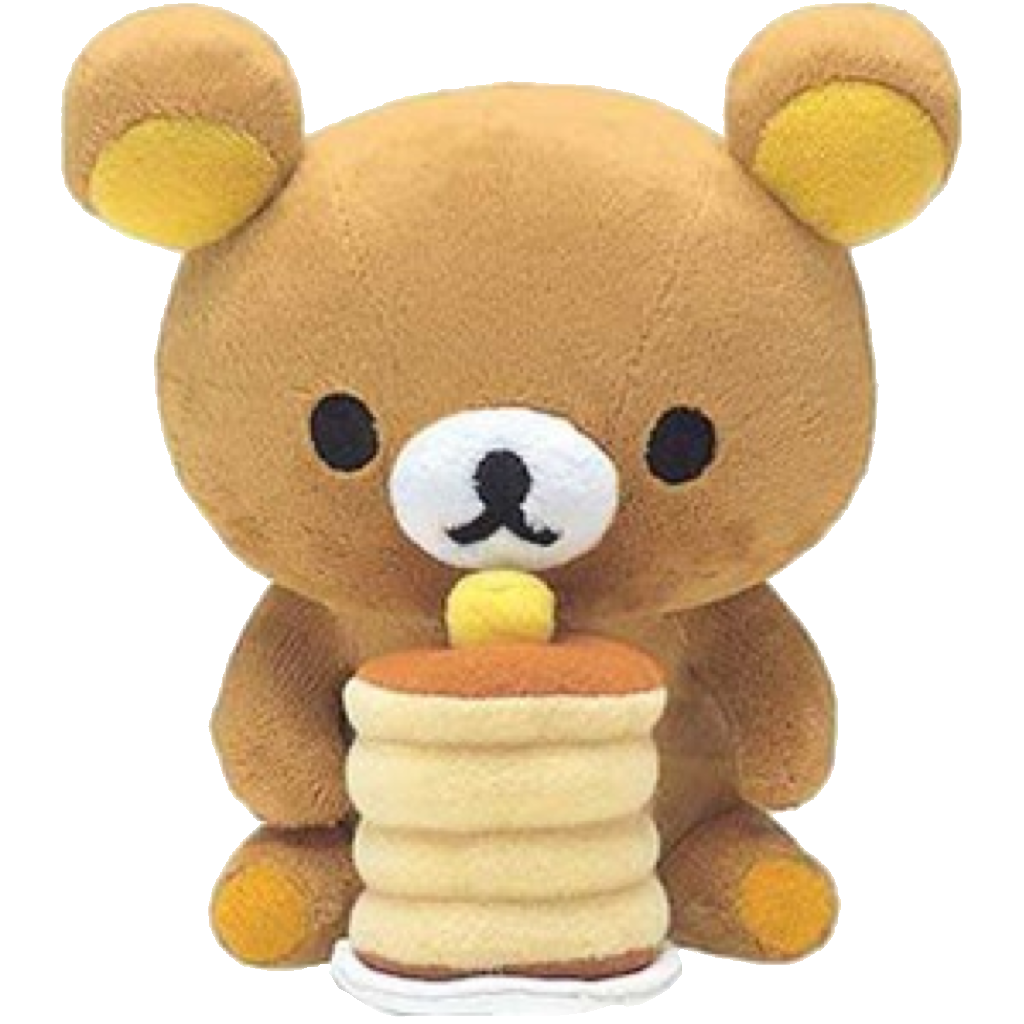 Transparent rilakkuma cute. Blog made by kitteii