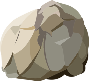 Transparent rocks drawing. Publicdomainvectors org of round