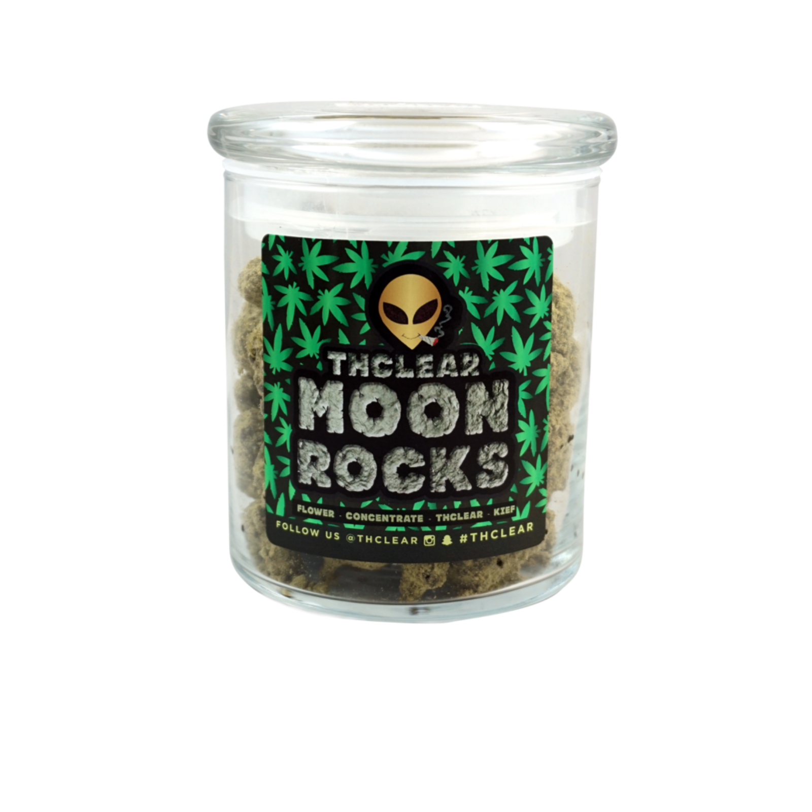 Transparent rocks moon. Strawberry by thclear information
