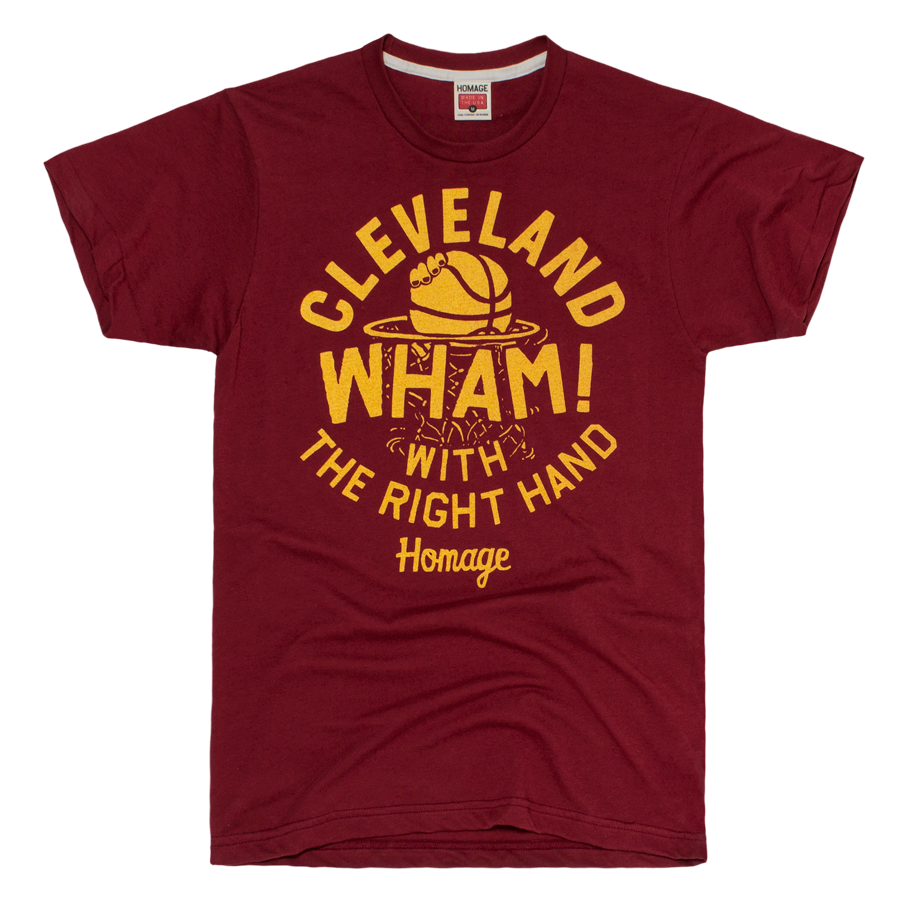 Transparent rocks right hand. Wham with the cleveland