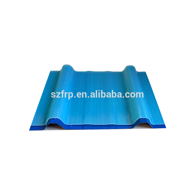 Transparent roofing clear fiberglass. Corrugated roof panel frp