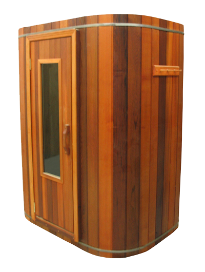 Transparent roofing clearlight. Hybrid sauna for the