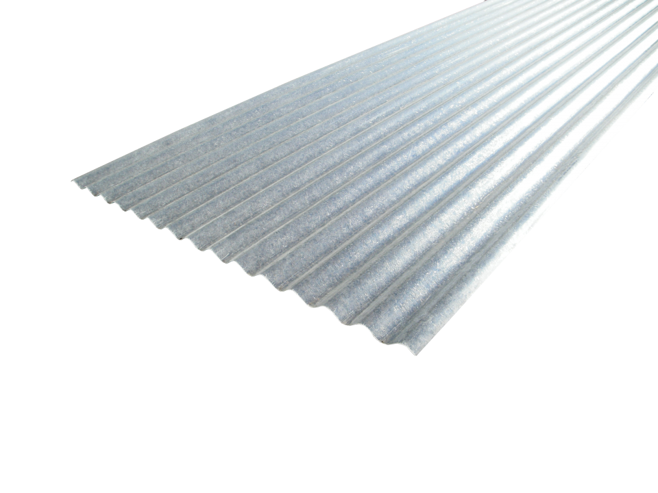Transparent roofing corrugated. Profile glass reinforced plastic