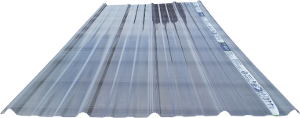 Transparent roofing clear tin. Panels these tough have