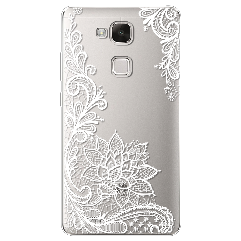 Transparent rubber thin. Case for huawei ascend
