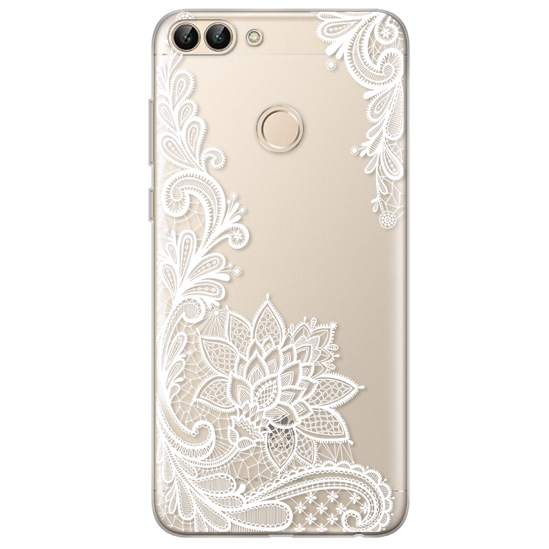 Transparent rubber thin. Case for huawei p
