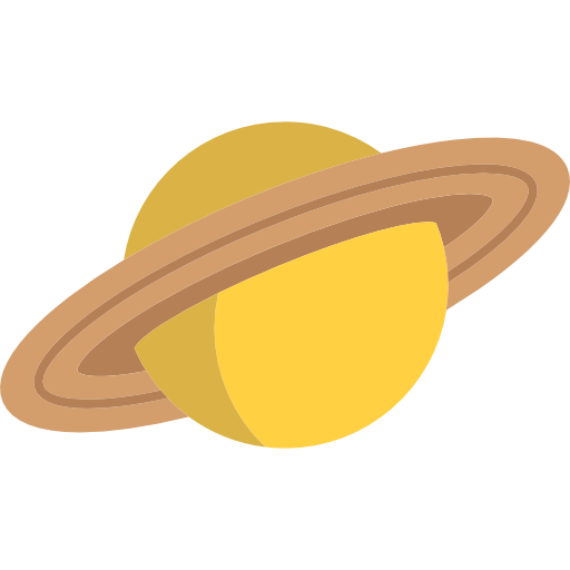Transparent saturn clip art. Vector library yellow