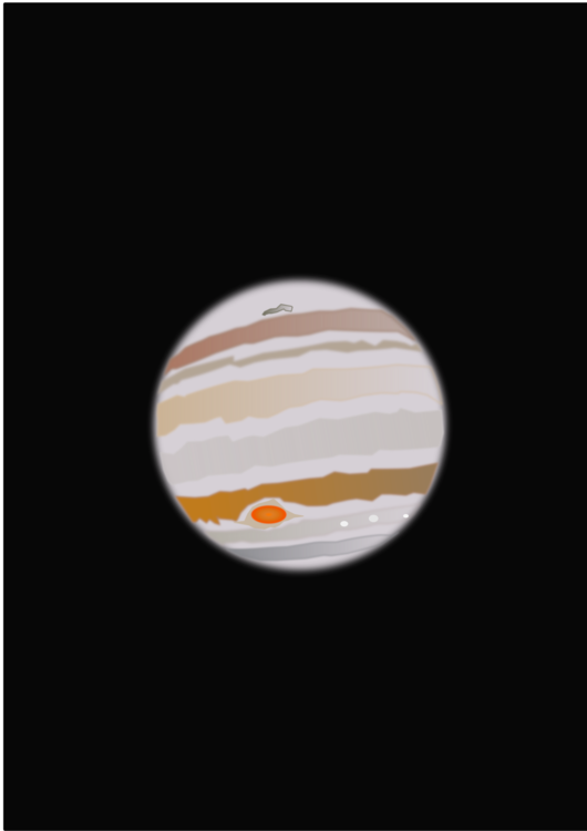 Transparent saturn solar. System jupiter planet free