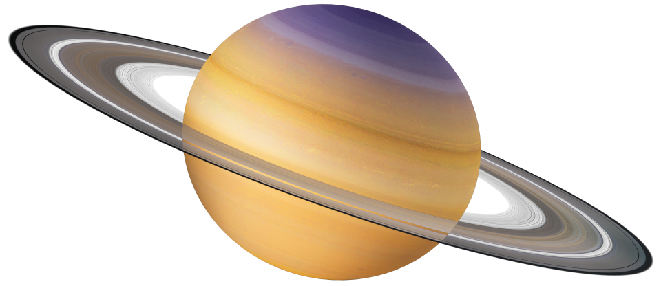 Transparent saturn solar. System for kids planets