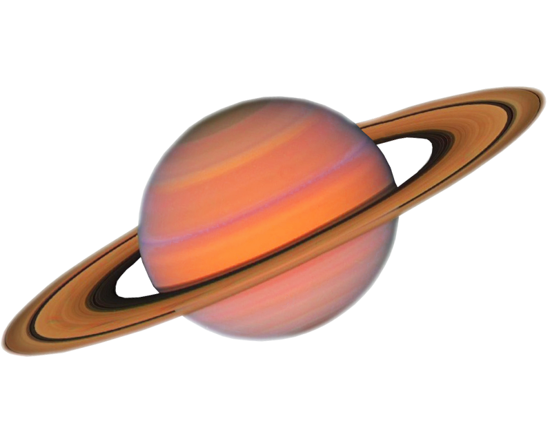 Transparent saturn solar. Background planet
