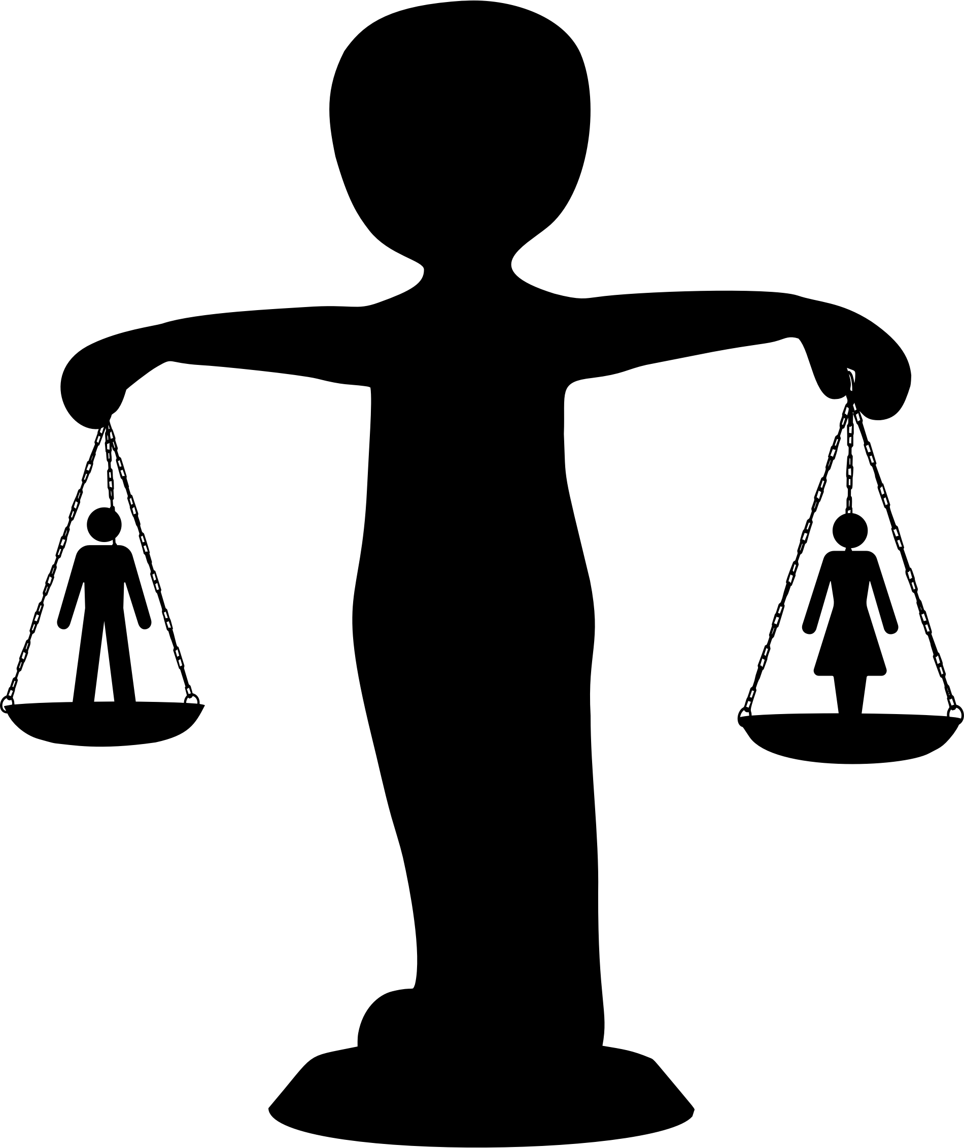Transparent scales equality. The role of law