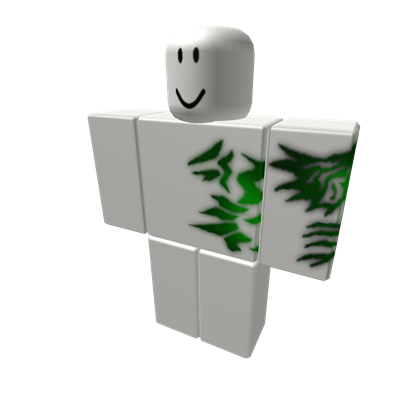 Transparent scars creepy. Green roblox