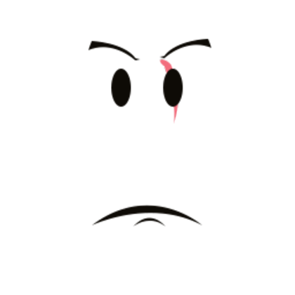 Transparent scars eye. Serious red scar roblox
