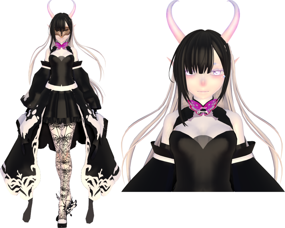 Moon the marionette queen. Transparent scars mmd svg royalty free