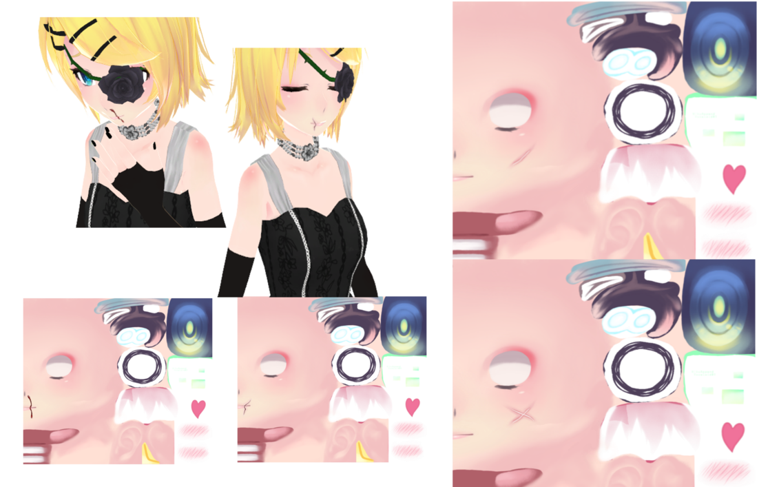Transparent scars mmd. Wounds and textures download