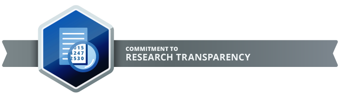 Transparent science. Our commitment to research