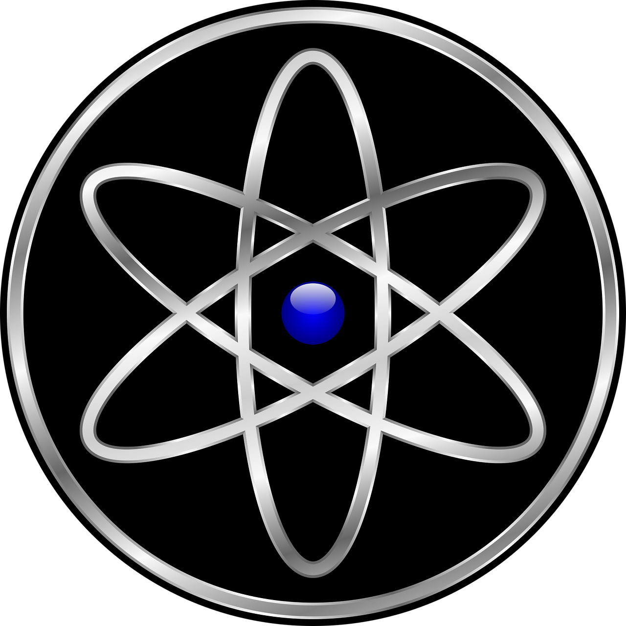 Transparent science sign. Symbol education technology free