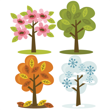 Transparent seasons clipart. Clip royalty free