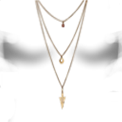 Transparent shading female. Necklace roblox