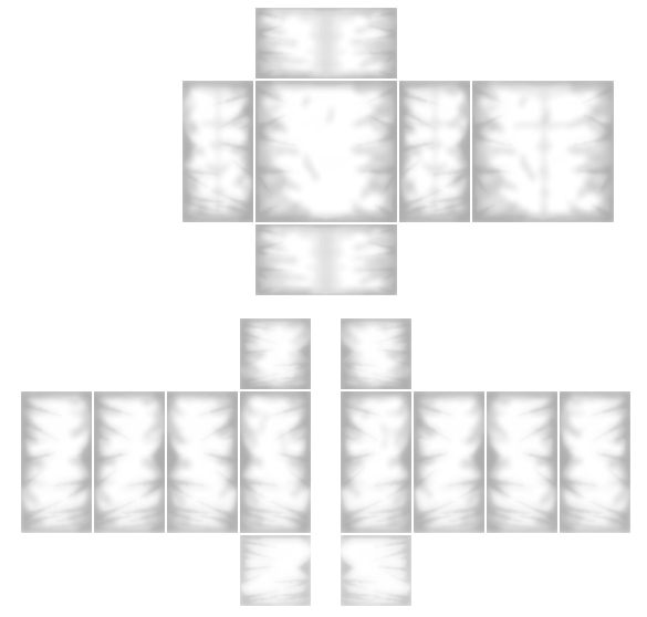Transparent shading roblox suit. Template mytemplates for your