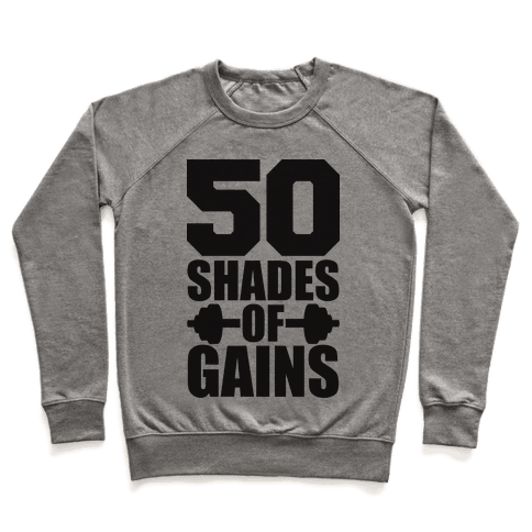 Transparent shading sweater. Throwing shade lifting pullovers