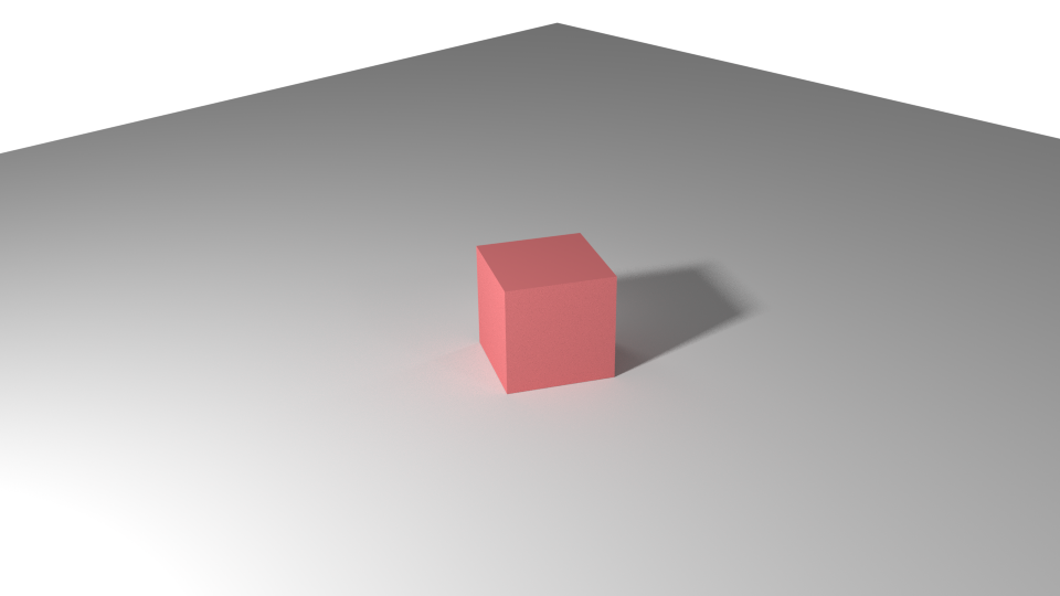 Transparent shadows red. Render cycles lighting and