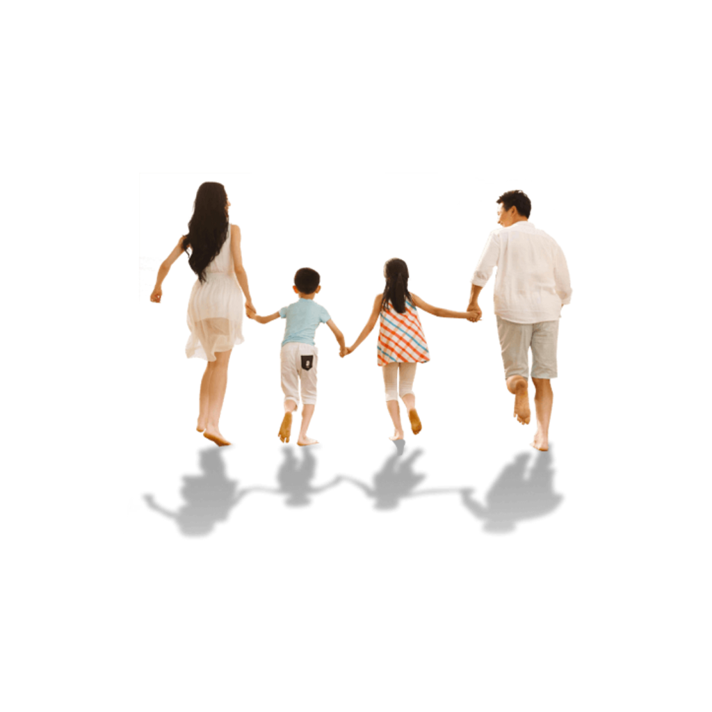 Transparent shadows family. Ftestickers