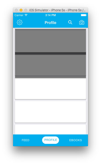 Transparent shadows iphone. Ios persist in uitableview