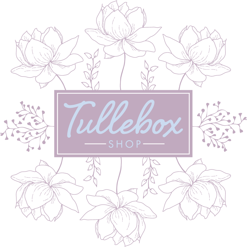 Transparent sidebar floral. Page right tullebox shop