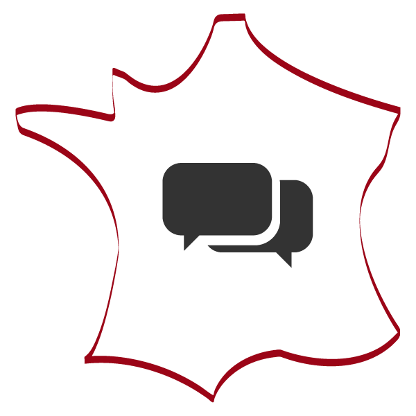 Transparent sidebar french. Conversation classes learn to