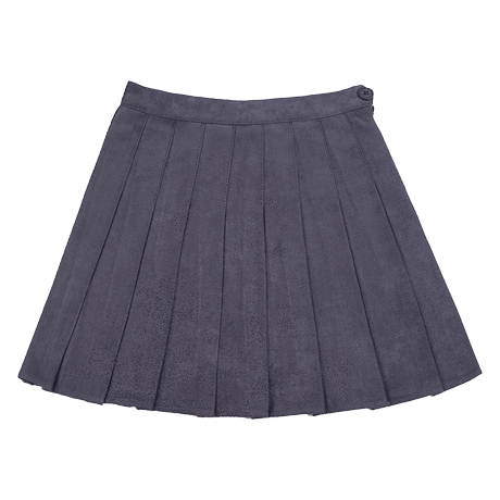 Transparent skirts aesthetic. Itgirl shop suede soft