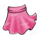 Transparent skirts clip art. Collection of skirt