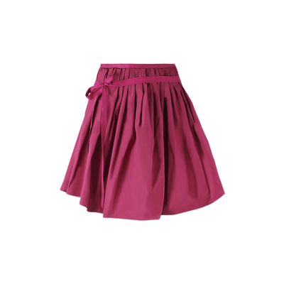Transparent skirts red. Skirt leather black png