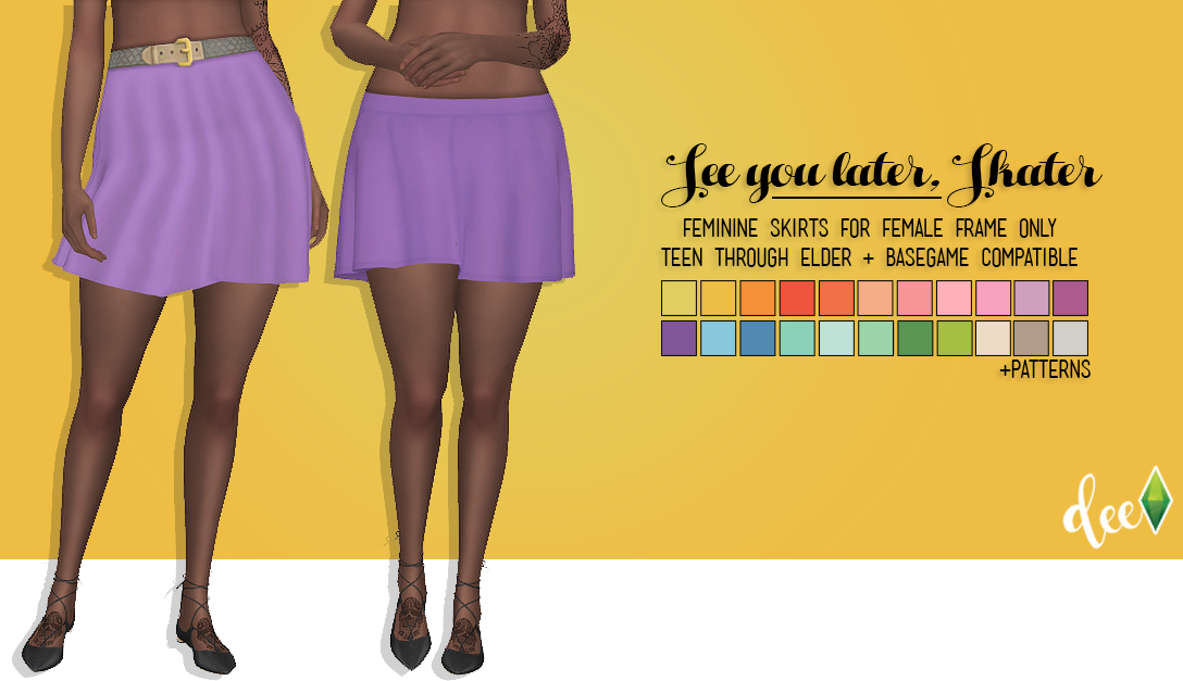 Transparent skirts sims 4. Deetron see you later