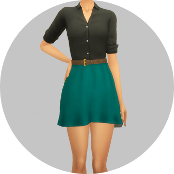 Transparent skirts sims 3