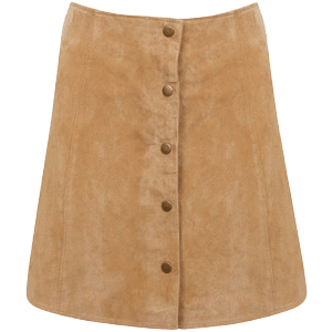 Transparent skirts suede. Red pencil skirt background
