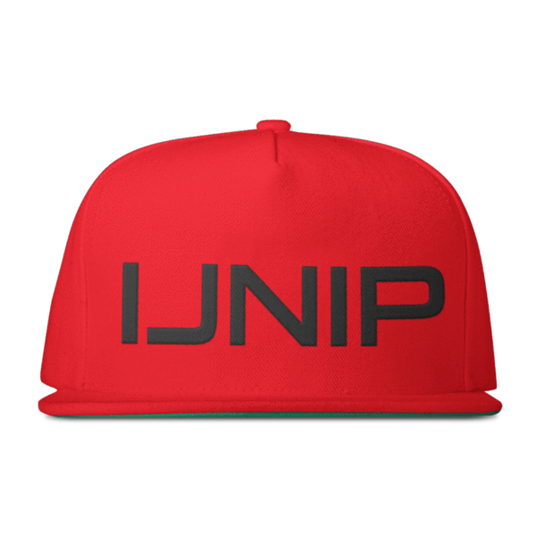 Transparent snapback red. Ijnip active faith sports