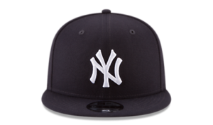 Transparent snapback yankee. New era fifty hat