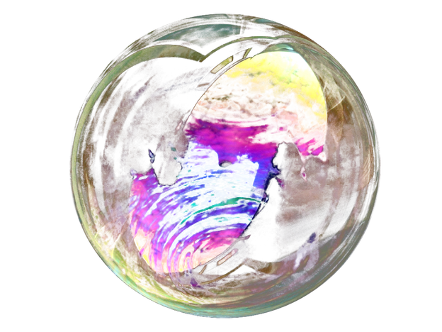 Transparent soap bubble png. No background image with
