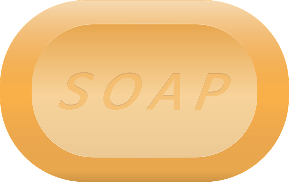 Transparent soaps. Top chemicals used for